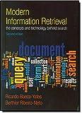 Modern Information Retrieval (ACM Press Books)