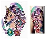 Tatuaggi temporanei Temporary Tattoo Tatuaggio Falso–Unicorno -