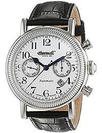 Ingersoll Herren-Armbanduhr Butterfield Chronograph Automatik Leder IN1828WH
