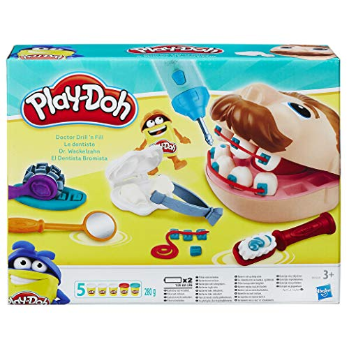 Play-Doh PDH Core Dentista Bromista, multicolor, 1 (Hasbro B5520EU4)