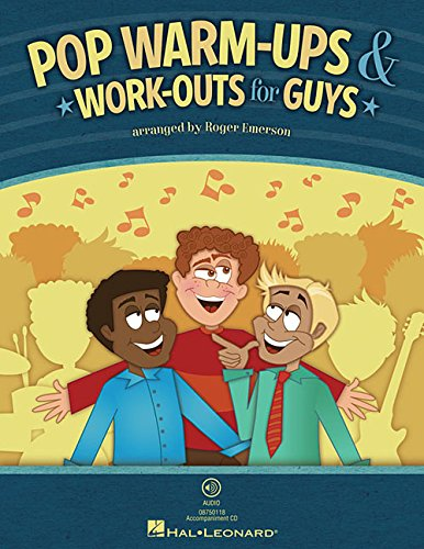 Pop Warm-Ups & Work-Outs for Guys: Book Only - Ups Emerson