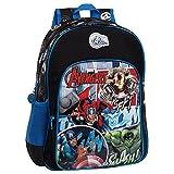 Marvel 2432351 Avengers Street Mochila Escolar, 15.6 Litros, Color Azul
