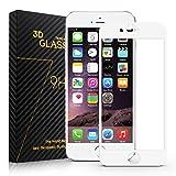 Film Protection iPhone 6 PLUS/6S PLUS - SURWELL Film Vitre de Protection écran en Verre Trempé Transparent iPhone 6 PLUS / 6S Plus/ 6+/6S+ Anti-casse Anti-rayures sans Bulles Haute Définition 5.5