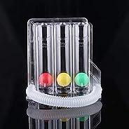 Control D Respirometer 3 Ball Lung Exerciser Respiratory Exerciser Spirometer