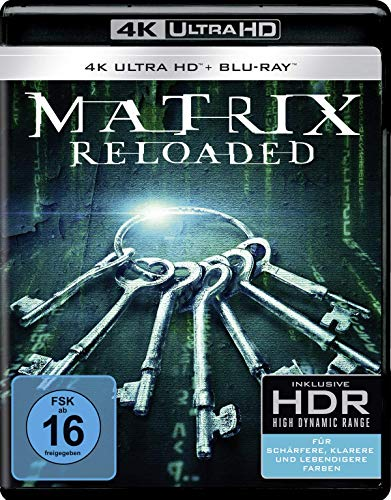 Matrix Reloaded (4K Ultra HD) (+ Blu-ray 2D) (+ Bonus-Blu-ray)