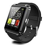 LX7 Smart Watch Bluetooth Wasserdicht Fitness Tracker Pulsmesser Schrittzähler Schlaf Monitor SMS Anrufbenachrichtigung Remote Kamera Musik Für Android,Black