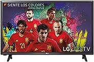LG 32LJ500V - Televisor Full HD con sonido 2.0, 2 x HDMI, 1 x USB, color negro, 1920 x 1080, 81 cm (32&q