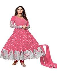 Riyan Enterprise Multi-Color Latest Designer Party Wear, Traditional Anarkali Style Salwar Suit Set With Dupatta... - B078J21M69