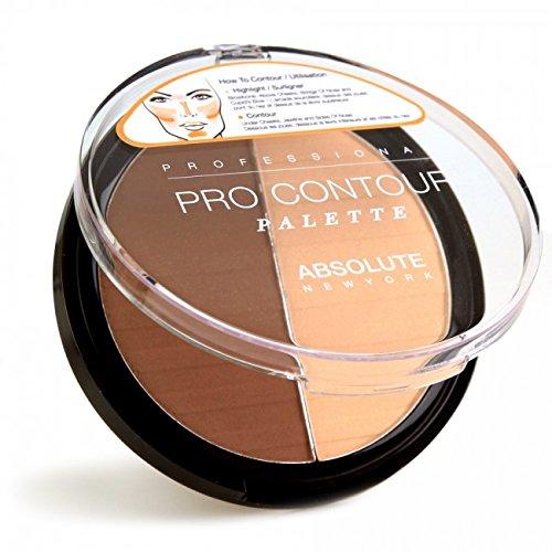 Absolute New York, palette de maquillage (ton light) – 1 unité