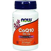 NOW Foods Coq10 100mg, 50 Softgels