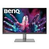BenQ TFT PD2720U Monitor (68, 58cm, 27Zoll, IPS, LED, 3840x2160, 16: 9, UHD) Grau/Schwarz matt