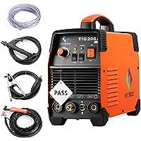 Máquina de soldadura TIG portátil de 200 amperios de alta frecuencia 220 V TIG MMA 200