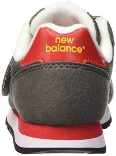 New Balance Nbkv373top, Scarpe da Ginnastica Unisex – Bambini Grigio (Grey Orange)