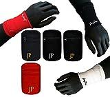 JayPee 2er Set XL Funktions-Schweißband mit Fach Tasche & Reißverschluss