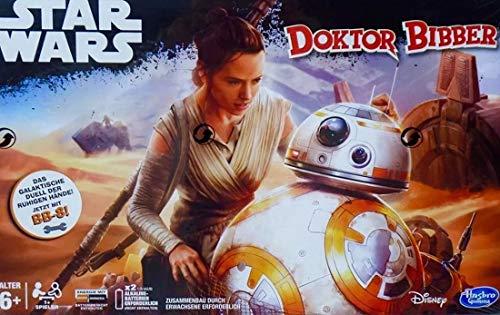 Hasbro Star Wars Doktor Bibber mit BB-8 Geschicklichkeitsspiel Motorikspielzeug
