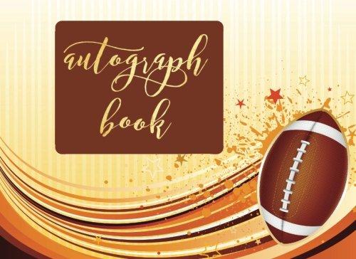 Disney World Scrapbooking (Autograph Book: American Football Blank Unlined Keepsake, Memory Book, Scrapbook For All Your Favorite Sports Stars, Disney Cartoon Characters. ... Album Gift   8.25