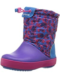 Crocs Crocband LodgePoint Graphic Boot (Toddler/Little Kid)