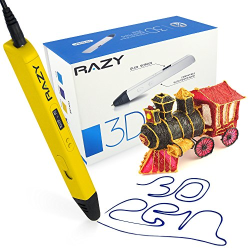 3d-printing-pen-with-led-display-for-doodling-art-craft-making-3d-modeling-and-education-yellow
