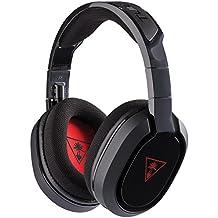 Turtle Beach Ear Force Recon 100 3,5 mm Binaurale Diadema Negro, Rojo auricular con micrófono - Auriculares con micrófono (PC/Juegos, Binaurale, Diadema, Negro, Rojo, Tela, PC, Apple Mac)