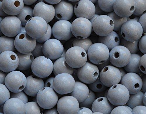 5 Stück Sicherheitsperlen 10 mm, geeignet zum Basteln für Schnullerketten, Greiflinge u.v.m. (Pastellblau)