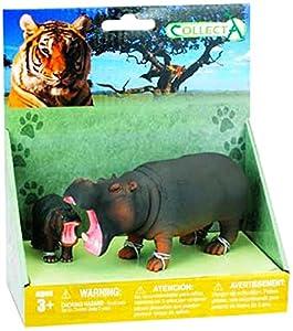 Collecta - Plataforma Hipopotamo con Cria 88269 (90188269)
