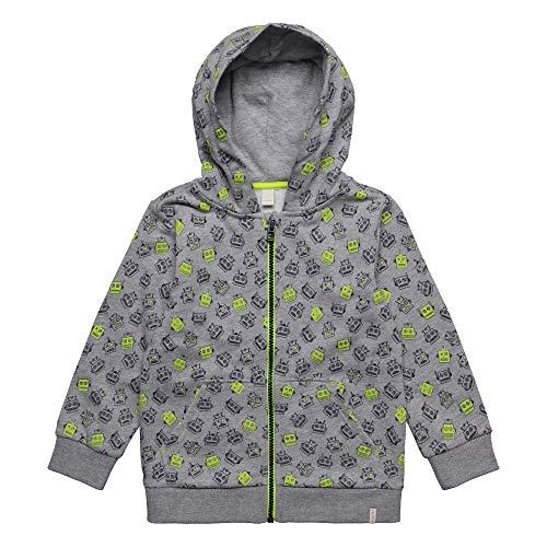 ESPRIT KIDS Jungen Cardigan Sweatshirt, per Pack Grau (Mid Heather Grey 260), 116 (Herstellergröße: 116+)