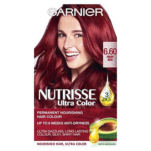 Garnier Nutrisse Extrem Dauerhafte Farb 6,60 Feurigen Rot Dauerhafte Haar-net