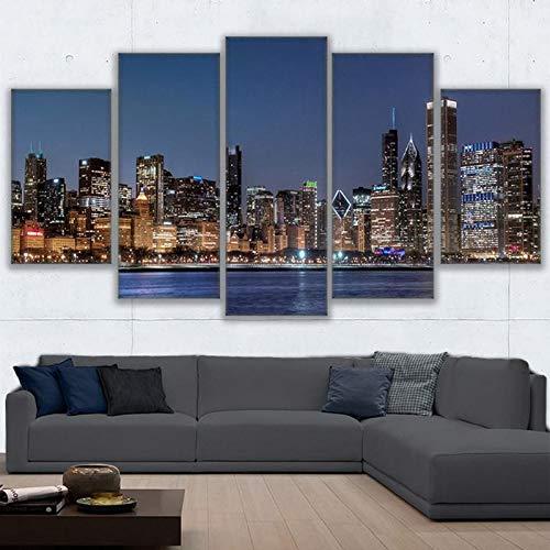 Impresiones HD 5 Piezas Lienzo Arte Pared Imágenes