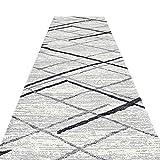JIAJUAN Läufer Teppiche Flur Küche Halle Teppich Rutschfest Eng Gang Fußboden Matte, 7mm, 2 Farben, Mehrere Längen, Anpassbare (Farbe : A, größe : 0.6x5m)