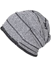 Casualbox Uomo Da Donna Largo Incurvato Beanie Berretto Viscosa Cappello  Estate Fresco e3514cfea361