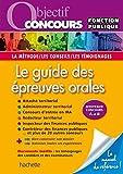 Image de Objectif Concours Le guide des épreuves orales
