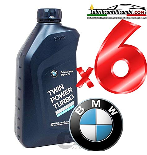 BMW Olio Motore Auto Original 5W-30, Twin Power Turbo Longlife 04 LL – 6 Litri