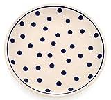 Classic Boleslawiec Pottery Hand Painted Ceramic Dessert usato  Spedito ovunque in Italia