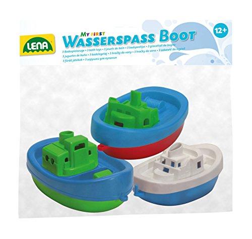 Lena 65470-divertirsi in acqua barche, 3pezzi
