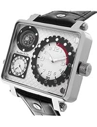 Boudier & Cie Herren-Armbanduhr Analog Quarz Leder OZG1150 (OZG1133)