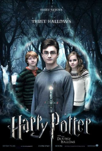 Click for larger image of Harry Potter and the Deathly Hallows: Part I Poster Movie 11 x 17 In - 28cm x 44cm Emma Watson Daniel Radcliffe Ralph Fiennes Helena Bonham Carter Tom Felton Alan Rickman