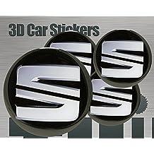 Adhesivos 3D 4 pzs. Imitación Todo tamaño Tapa central Tapas de rueda ...