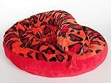 Plüschtier Schlange - rot - 250 cm