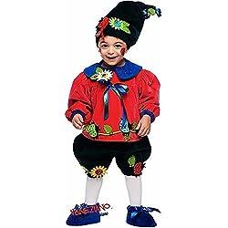 b7a30bd4a1ff Fancy Me Italiana Fatto Lusso Bambino Bambina Lusso Vaso di Fiori Gnomo  Carnevale Festival Costume Halloween