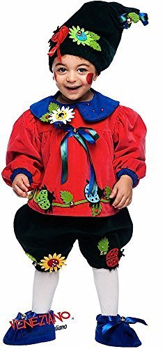 Vestiti Halloween Bambina 3 Anni.Fancy Me Italiana Fatto Lusso Bambino Bambina Lusso Vaso Di Fiori Gnomo Carnevale Festival Costume Halloween Vestito Neonati 0 3 Anni Rosso 1 Year