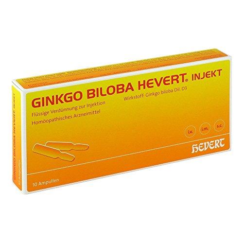 Ginkgo Biloba Hevert Inje 10 stk