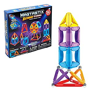 Cra-Z-Art - Juego de construcción Magtastix Extreme Combo, 50 piezas (44807)