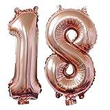 Meowoo 30 Ans Anniversaire Décorations, Fête Ballons Happy Birthday Ballons pour Anniversaire de Mariage Fête d'anniversaire Décoration Hélium Ballons