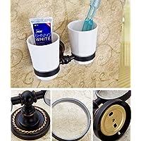 XDB Suministros para baño Inodoro-baño Diseño Moderno Soporte para Cepillo de Dientes Accesorios para
