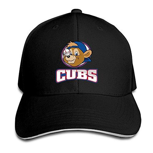 sunpp-cappellino-da-baseball-uomo-black-taglia-unica