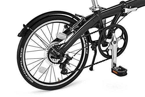 MINI Folding Bike Black - 4