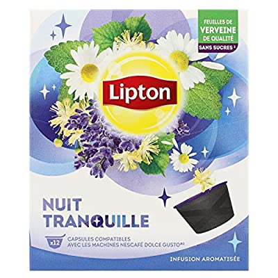 Lipton Infusion Nuit Tranquille 12 Capsules 24g