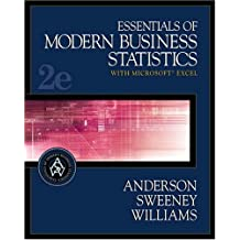 By David Ray Anderson - Essentials of Modern Business Statistics with Microsoft Excel (2nd Revised edition)