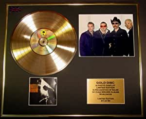 U2/CADRE DISQUE D'OR/VINYLE, PHOTO ET LIVRET/EDITION LIMITEE/CERTIFICAT D'AUTHENTICITERATTLE & HUM