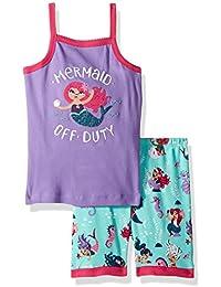Hatley Organic Cotton Sleeveless Pyjama Sets, Conjuntos de Pijama para Niñas